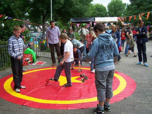 Circus Kiko Workshops - diabolo workshops in Westervoort