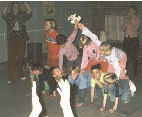 Circus Kiko - circus workshops - acrobatiek workshop - kinderen - circusles in Arnhem